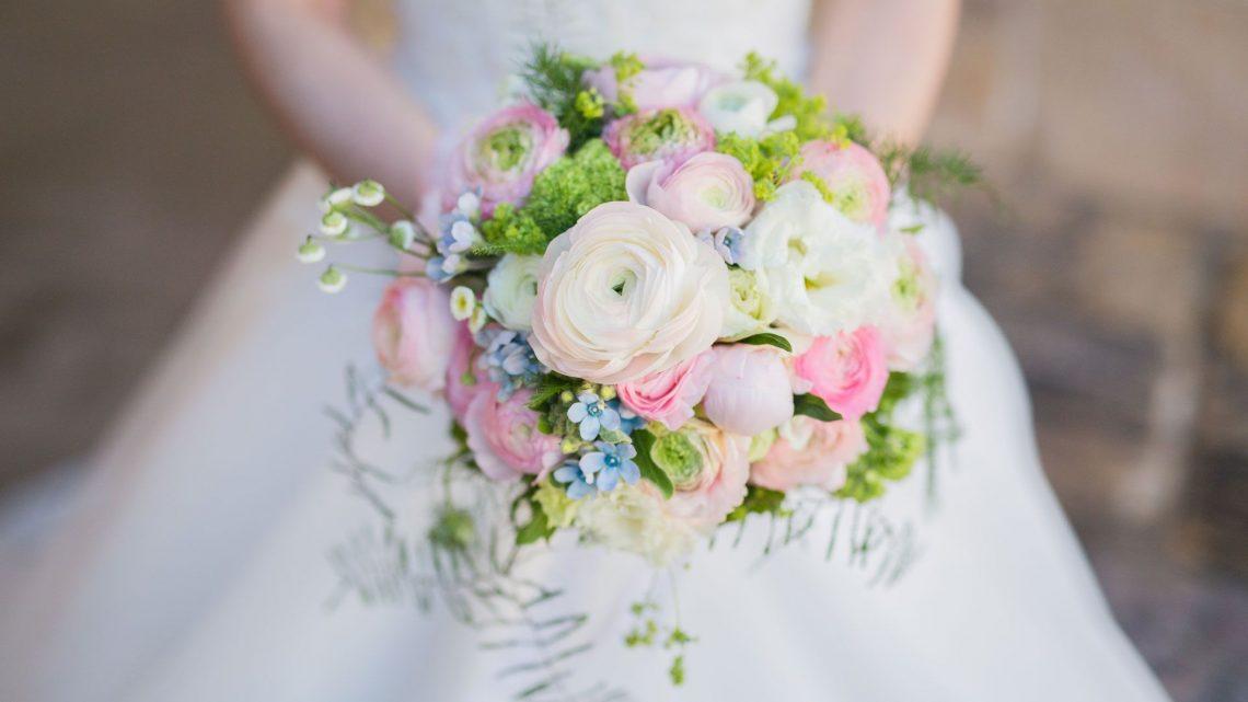 Bridal Flower Bouquet For Summer Wedding