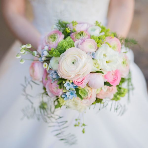 Bridal Flower Bouquet For Summer Wedding