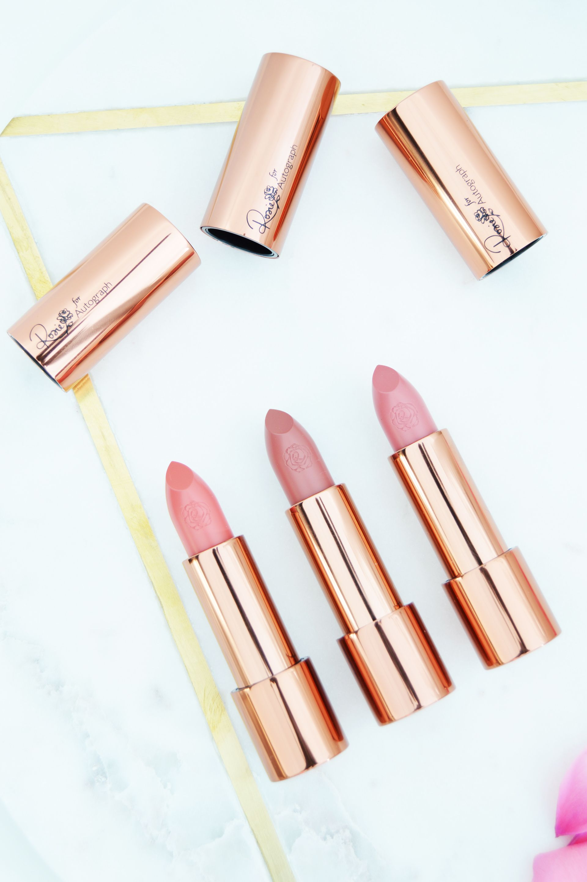 Rosie for Autograph Lipsticks Review and Swatches