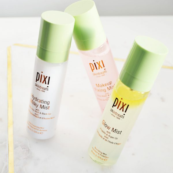 Pixi Mists to Try Out - Pixi Hydrating Milky Mist, Pixi Glow Mist and Pixi Makeup Fixing Mist Review