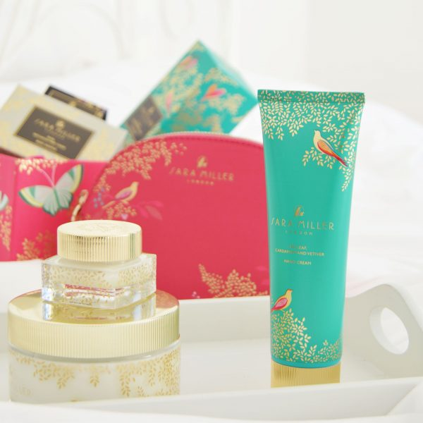 Sara Miller London Beauty Range Review | Body soufflé, hand cream, lip balm