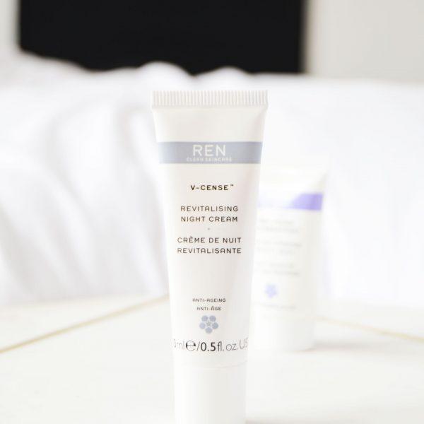 REN V-Cense Revitalising Night Cream Review | M&S Advent Calendar 2018