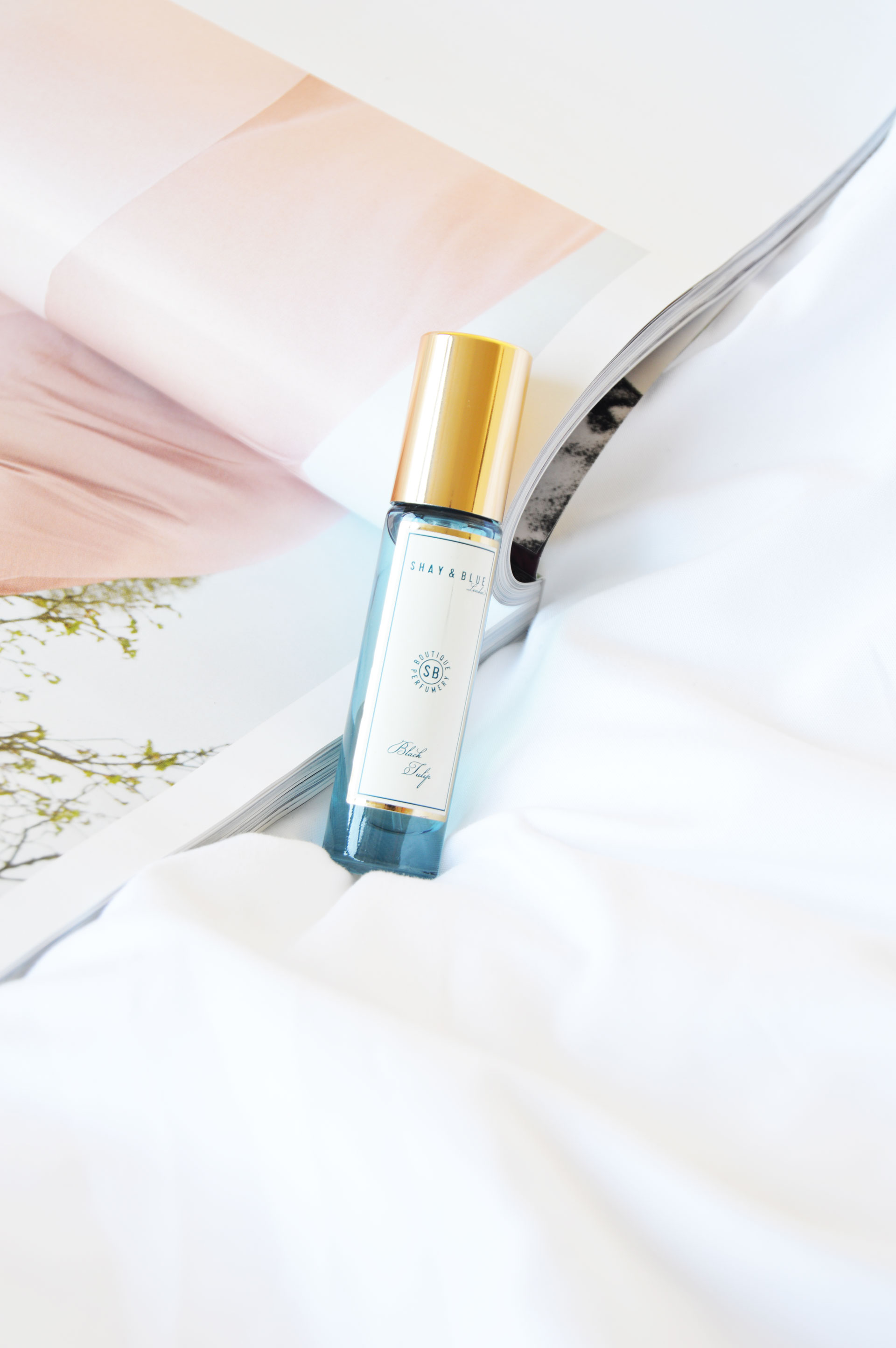Shay & Blue Black Tulip Natural Spray Fragrance Review | M&S Advent Calendar, The Book of Beauty